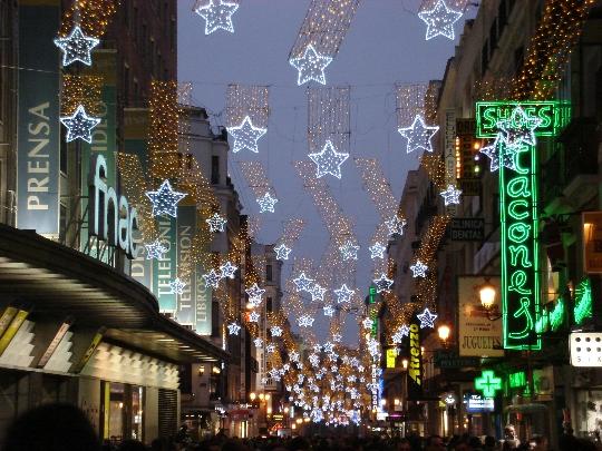 Kerst in Madrid