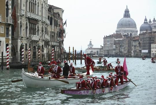 Kerst in Venetië