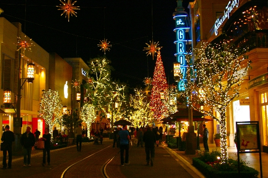 Kerst in Los Angeles