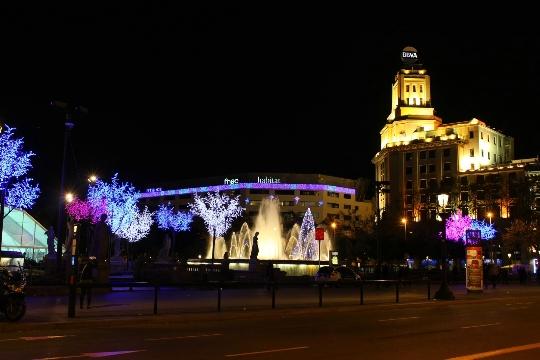 Коледа в Барселона