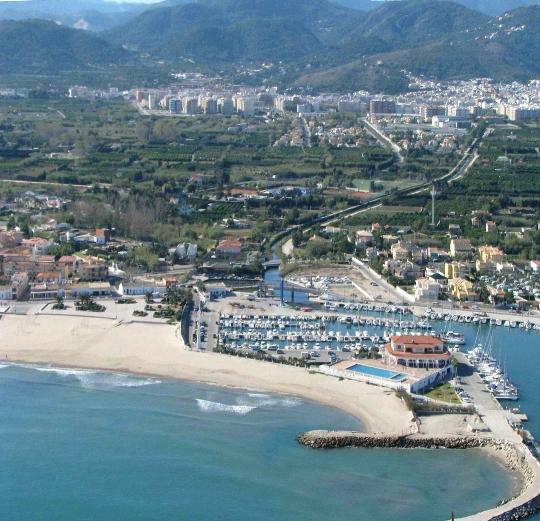 Buitenwijken van Valencia