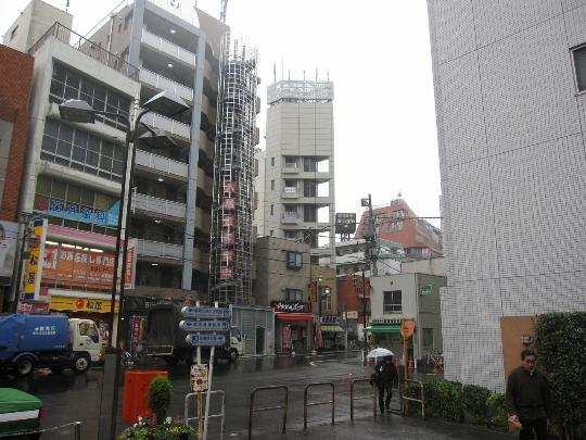 Buitenwijken van Tokio