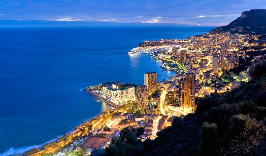 Reis naar Monaco