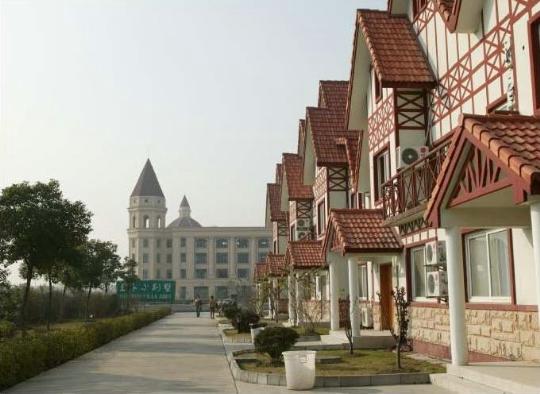 Buitenwijken van Shanghai