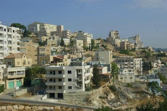 Jerusalemin lähiöt