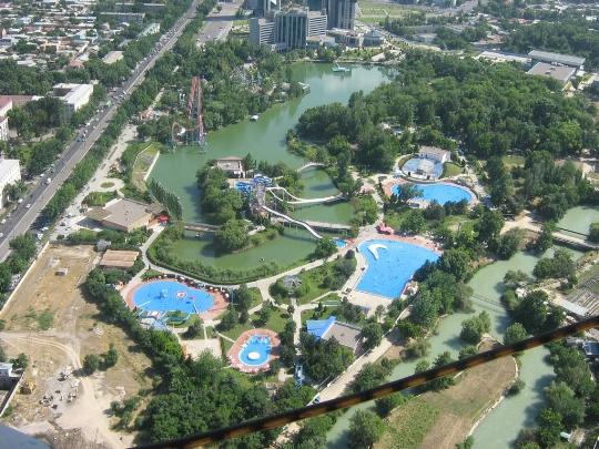 Waterparken in Tasjkent