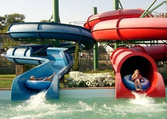 Waterparken in Feodosia
