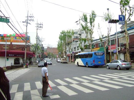 Buitenwijken van seoel