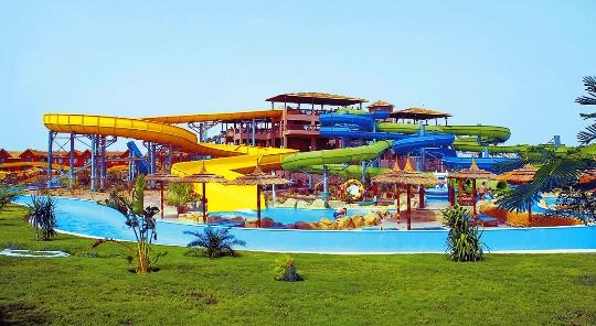 Vesipuistot Hurghadassa