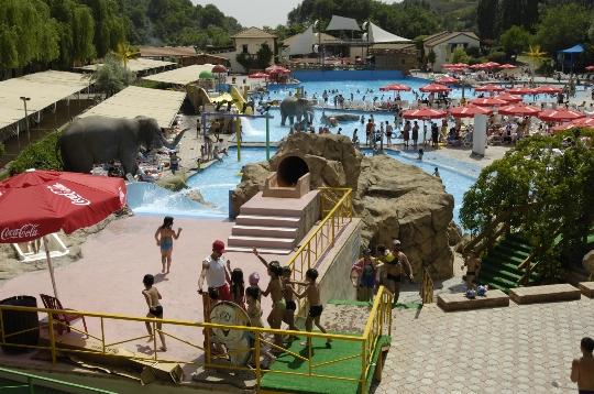 Vesipuistot Jerevanissa