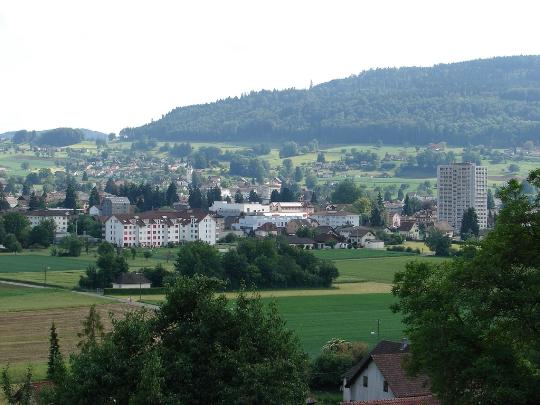 Buitenwijken van Zürich