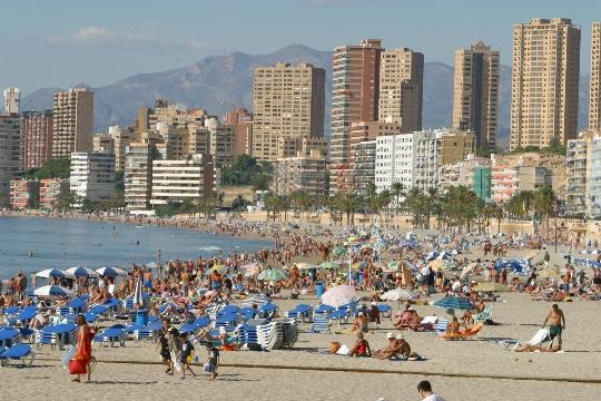 Buitenwijken van Alicante