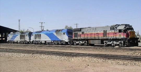 Iraanse spoorwegen