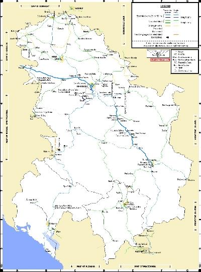 Spoorwegen van Servië