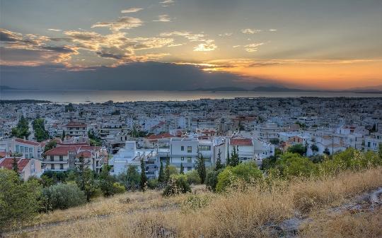 Buitenwijken van Athene