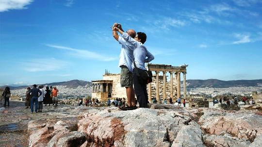 Alleen naar Griekenland