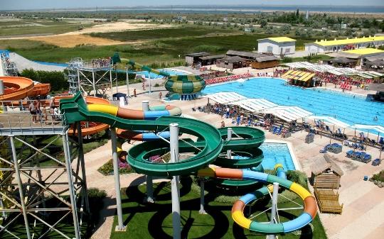Waterparken in Yevpatoriya