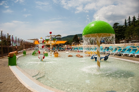 Vesipuistot Jaltassa