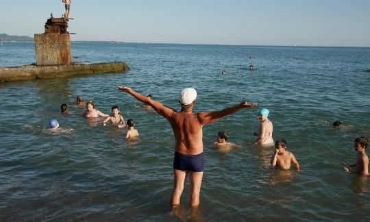 Alleen naar Abchazië
