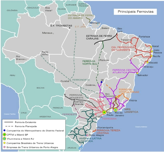 Koleje Brazylijskie