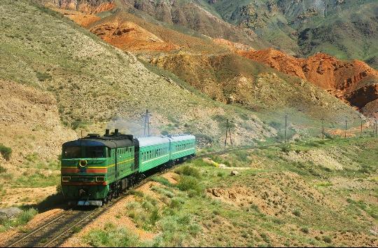 Kirgisian rautatiet