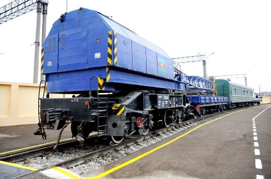 Железници на Азербайджан