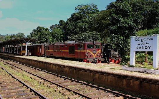 Spoorwegen van Sri Lanka