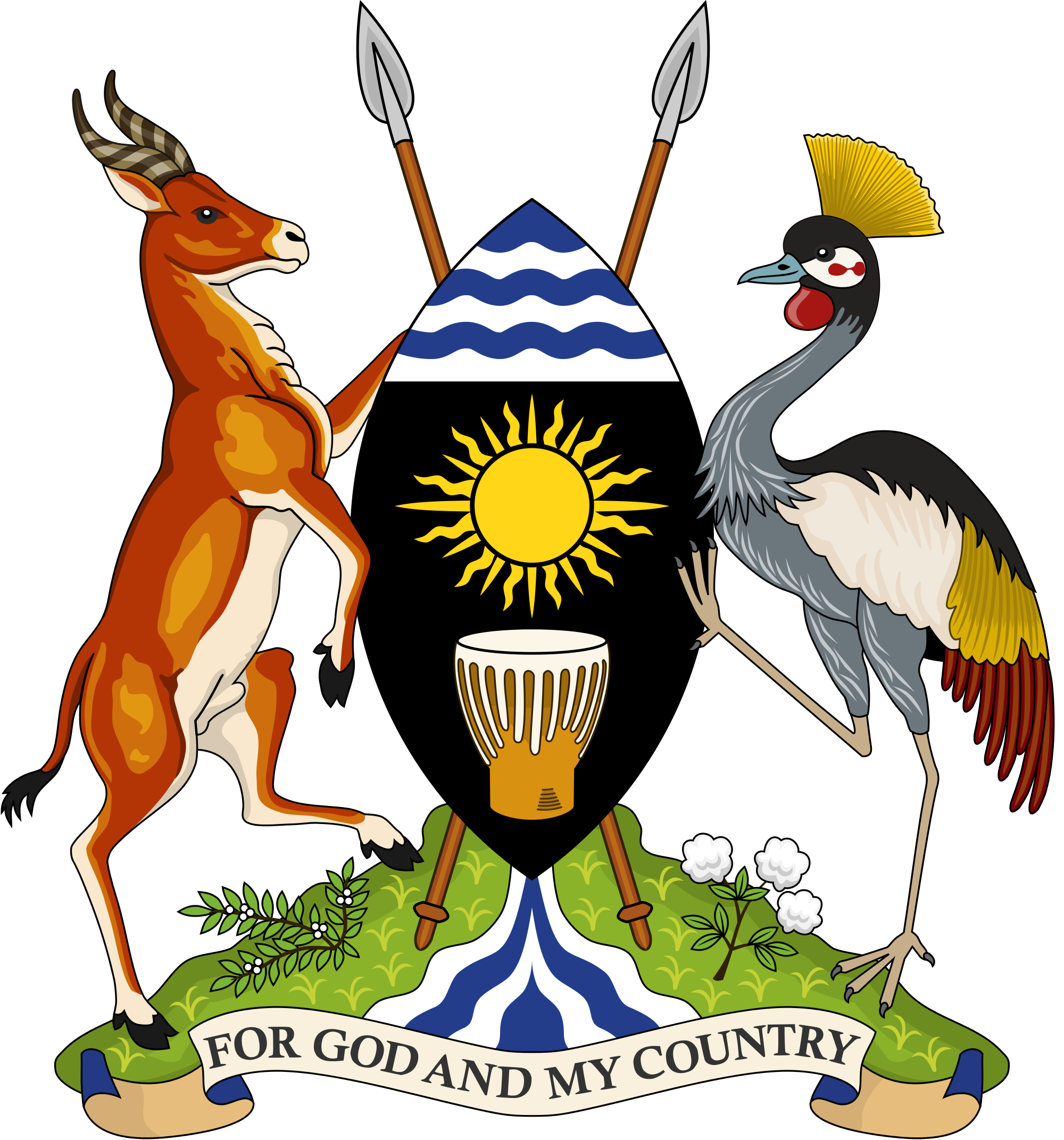 Wapen van Oeganda