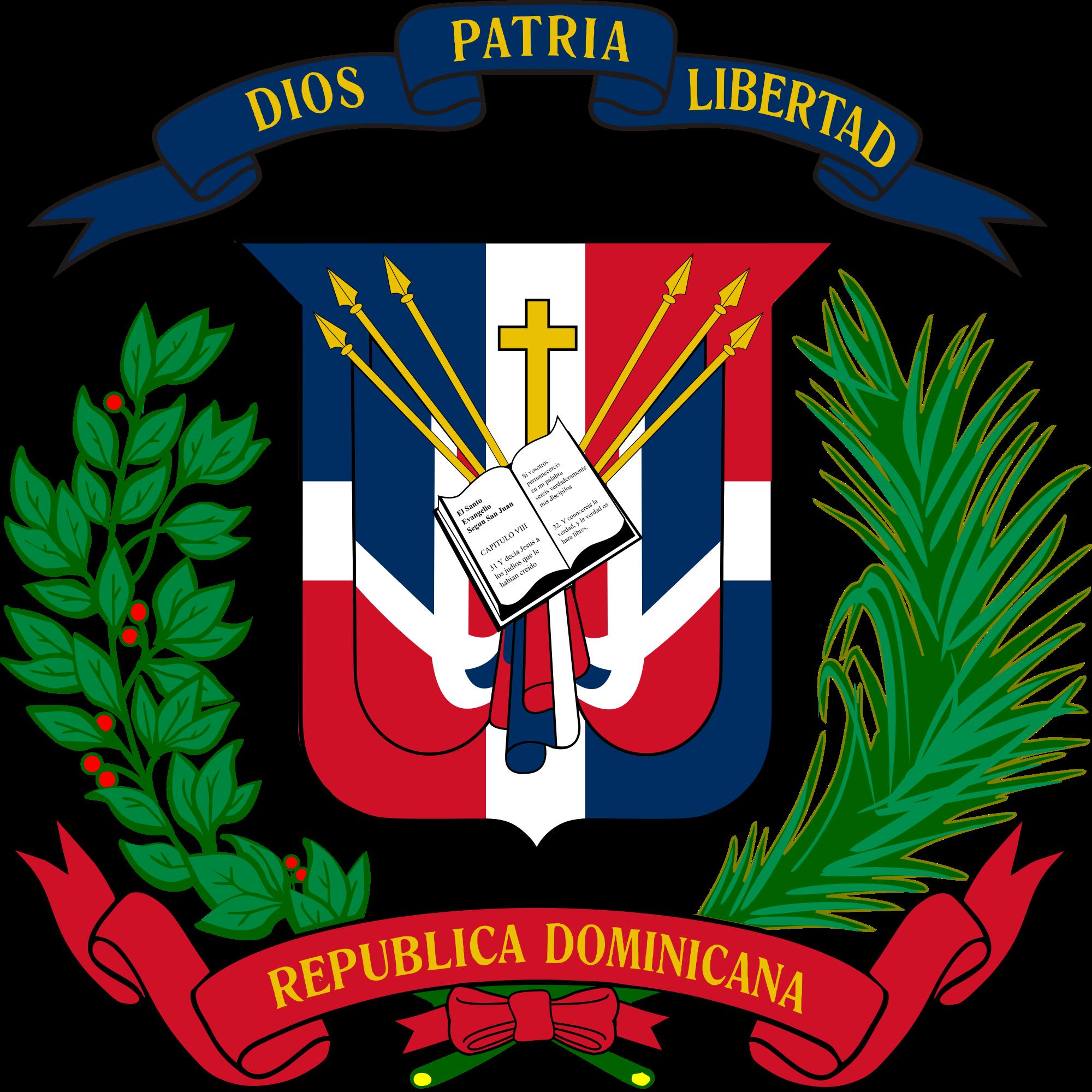 Wapen van de Dominicaanse Republiek