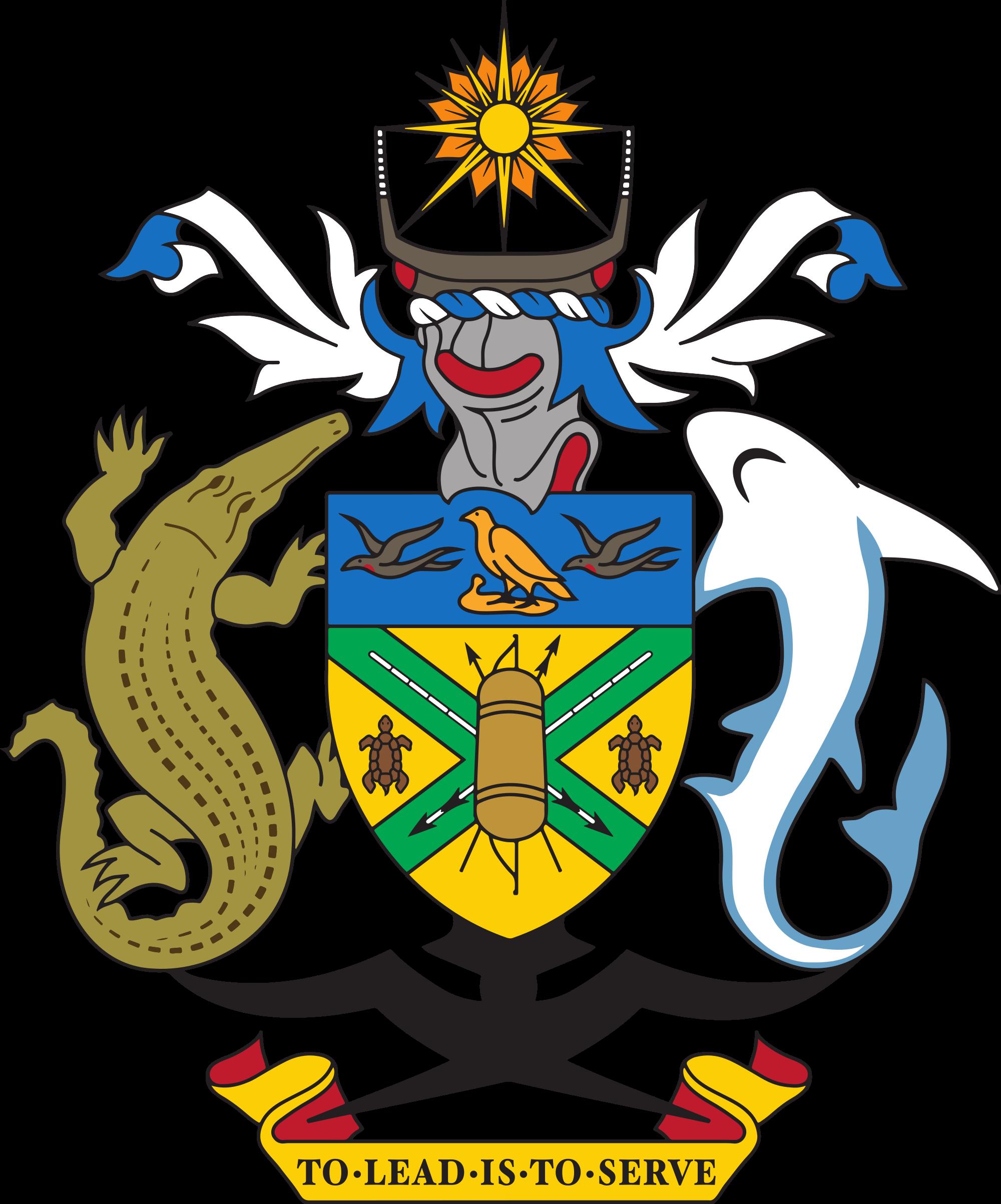 Wapenschild van de Salomonseilanden