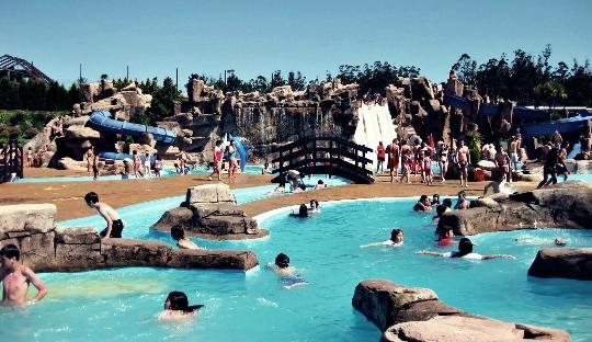 Waterparken in Madrid