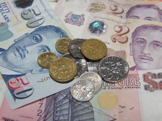 Valuutta Singaporessa