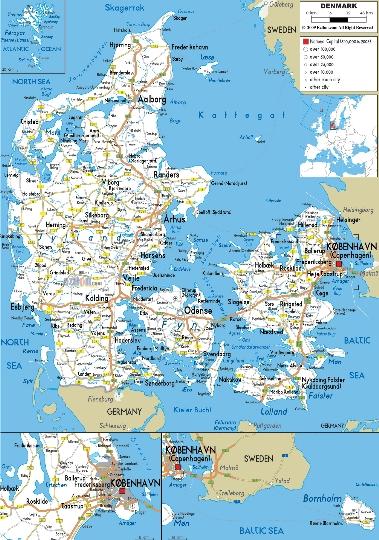 Spoorwegen van Denemarken