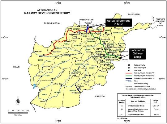 Spoorwegen van Afghanistan