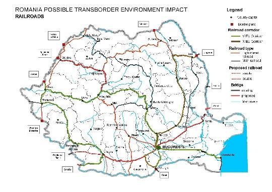 Spoorwegen van Roemenië