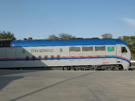 Железници на Туркменистан