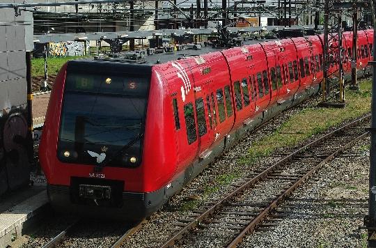 Железници на Дания