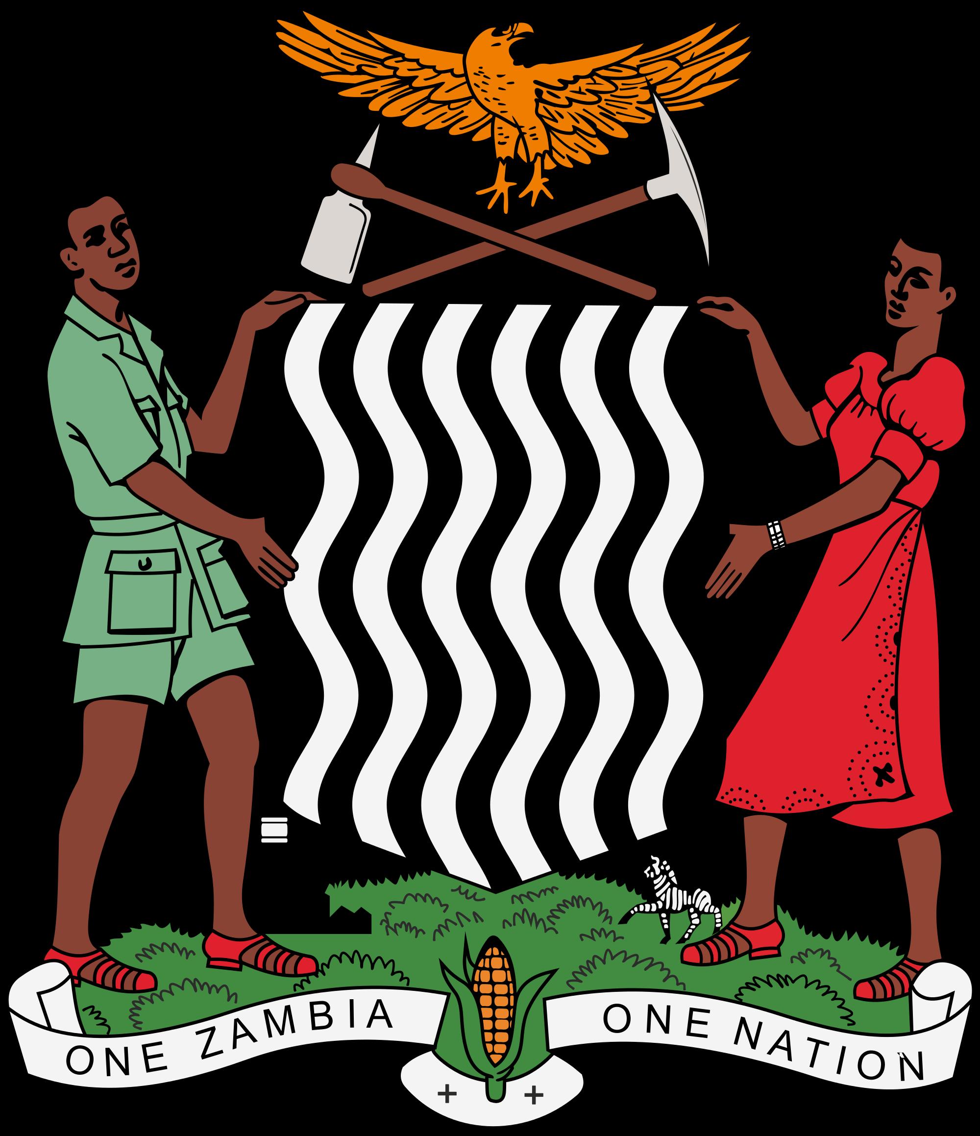 Герб на Замбия