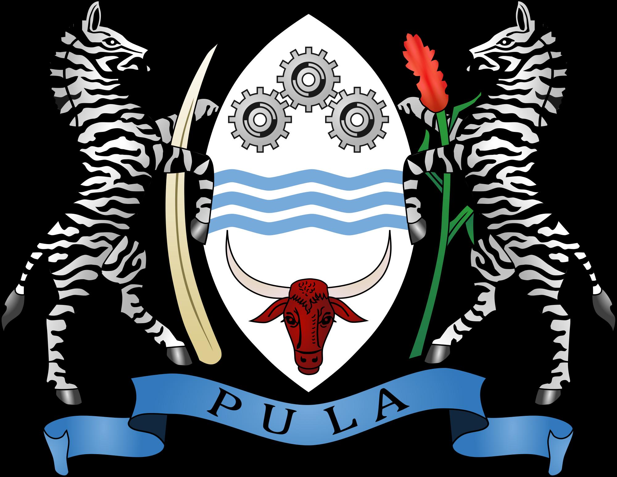 Wapenschild van Botswana
