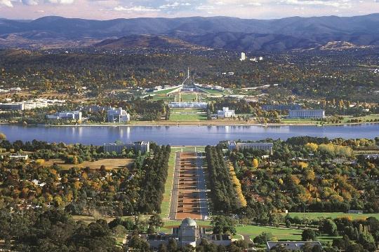 Canberra on Australian pääkaupunki