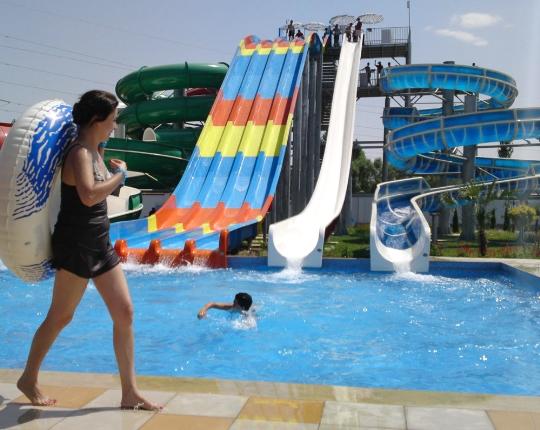 Water parken in Dushanbe