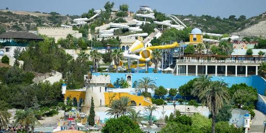 Waterparken in Rhodos