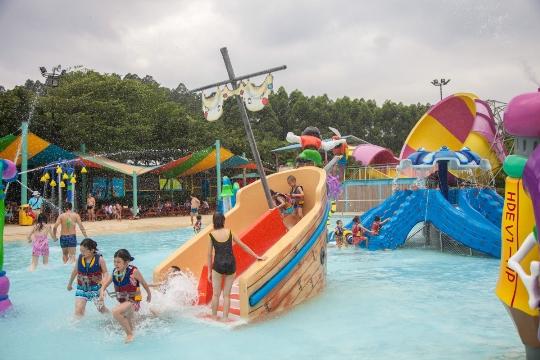 Vesipuistot Guangzhoussa