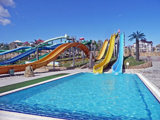 Waterparken in Koktebel