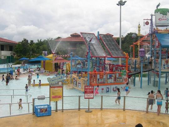 Waterparken in Singapore