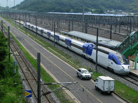 Etelä-Korean rautatiet
