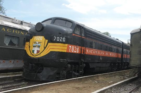 Железници на Мексико