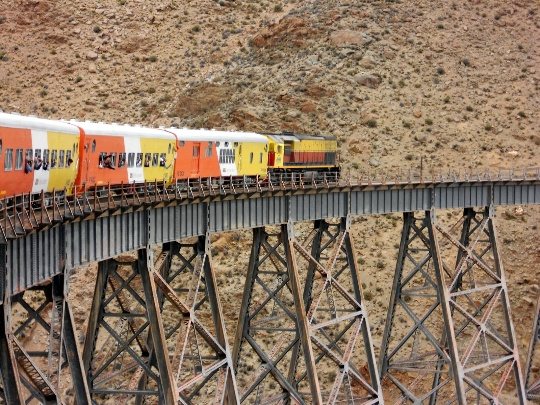 Argentiinan rautatiet