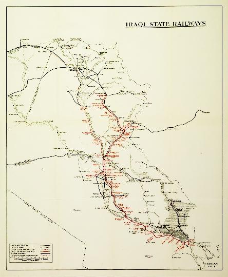 Spoorwegen van Irak