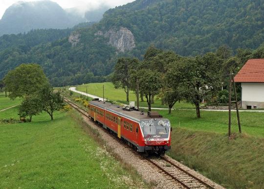 Spoorwegen van Slovenië
